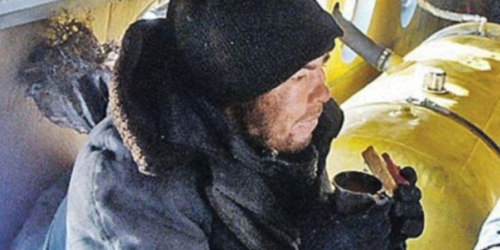 Alexei Gorulenko se comió a su mejor amigo para sobrevivir Foto:Ministerio Ruso de Situaciones de Emergencia