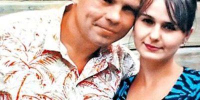 El caníbal con su esposa, Irina Foto:Facebook