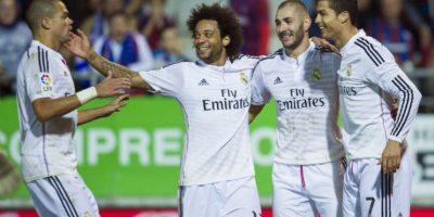 Real Madrid (España ) tiene una cotización total del plantel de 688.8 millones de euros, el 87.1% del valor de todos los equipos del torneo Foto:Getty