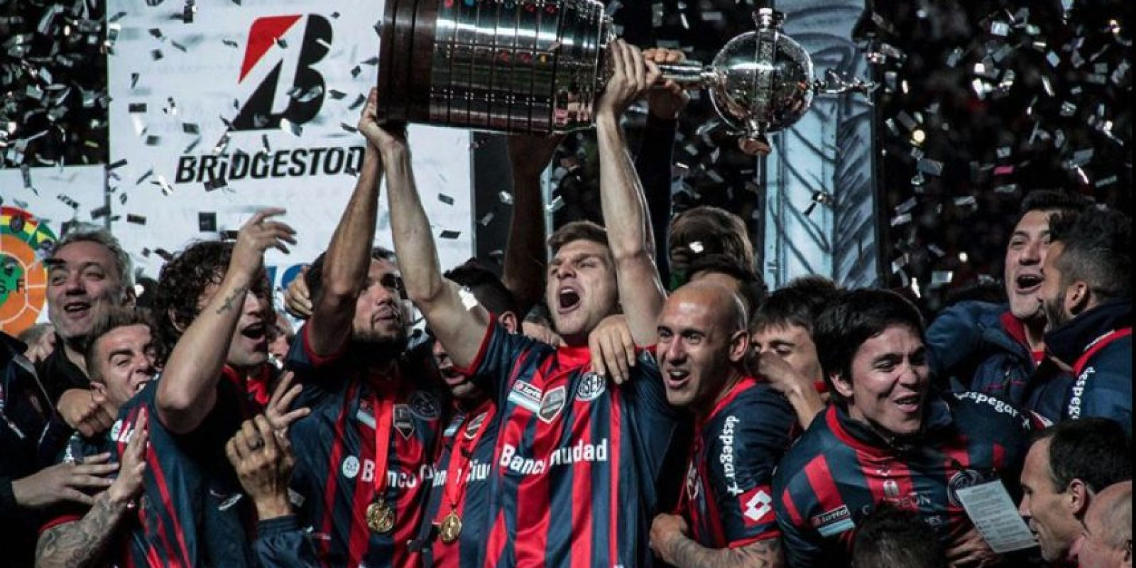 San Lorenzo de Almagro (Argentina), campeón de la Copa Libertadores Foto:Twitter: @SanLorenzo