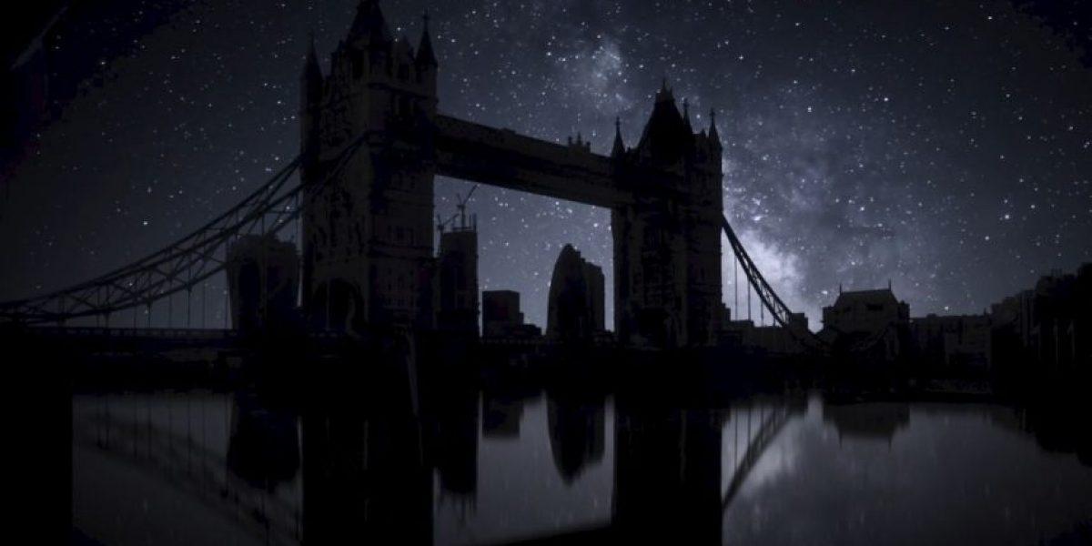 VIDEO: ¡Espectacular! Así se vería el cielo de Londres si sufriera un apagón