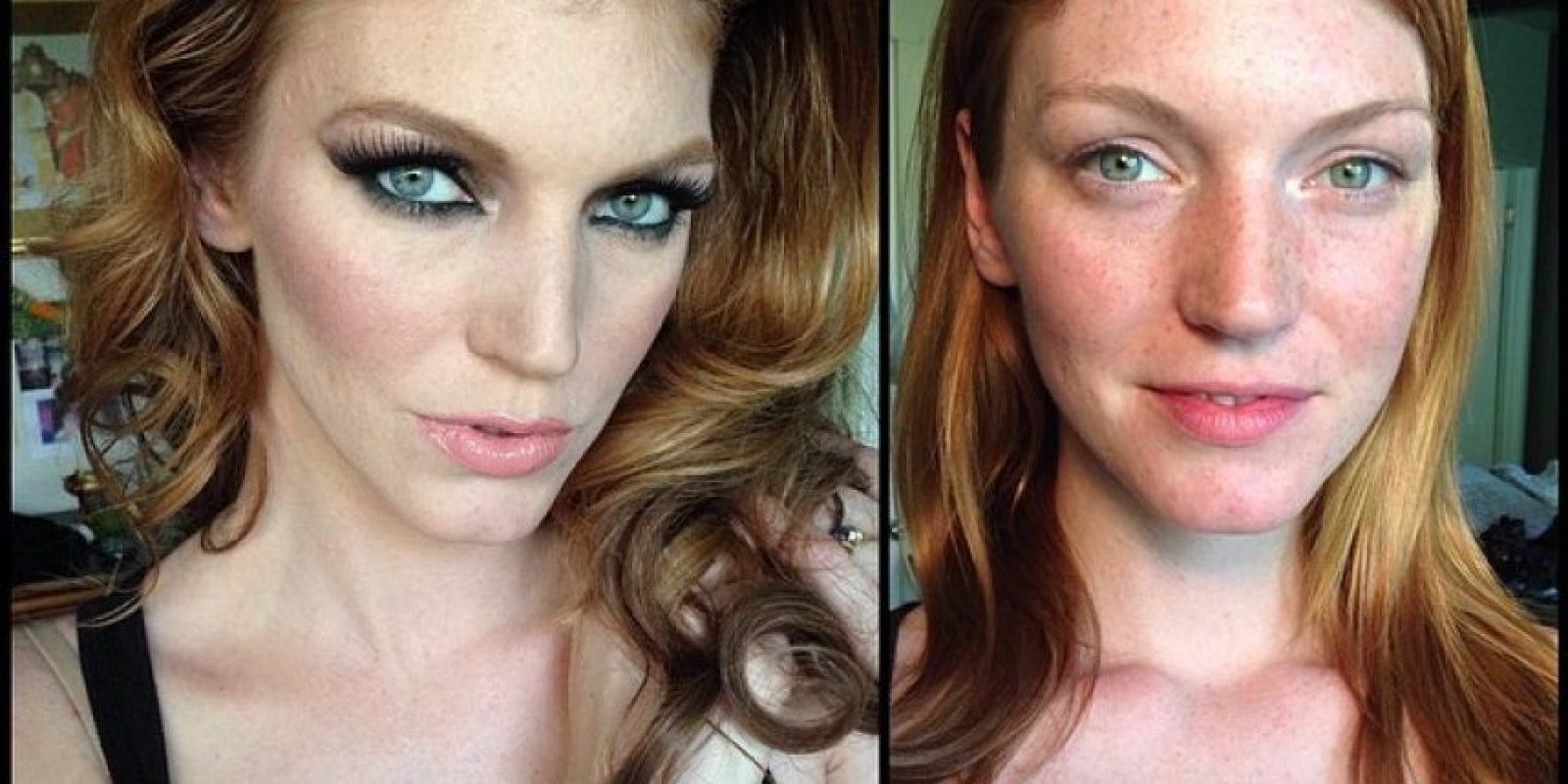 La modelo Jana Rochelle Foto:Instagram (vía @xmelissamakeupx)
