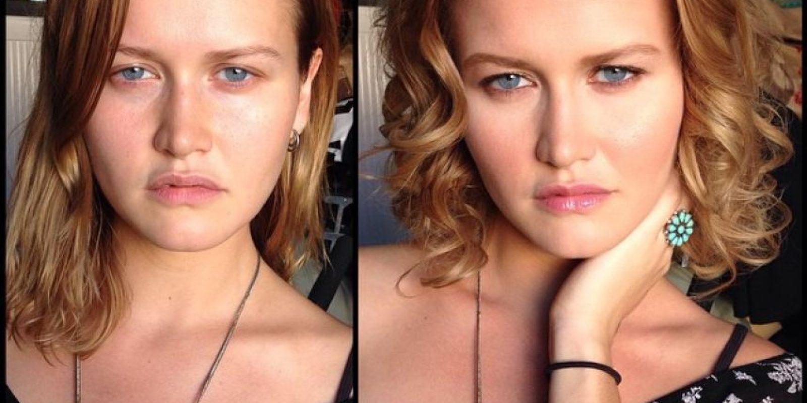 La modelo Taylor Conzelman Foto:Instagram (vía @xmelissamakeupx)