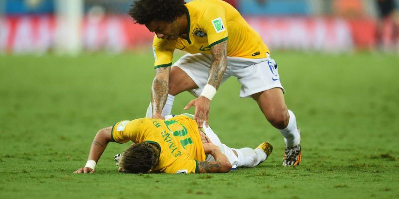 Neymar – Brasil. 4 de julio de 2014. Foto:Getty Images