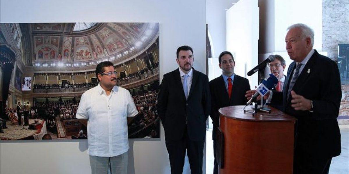 García-Margallo inaugura en Veracruz exposición por el 75 aniversario de Efe