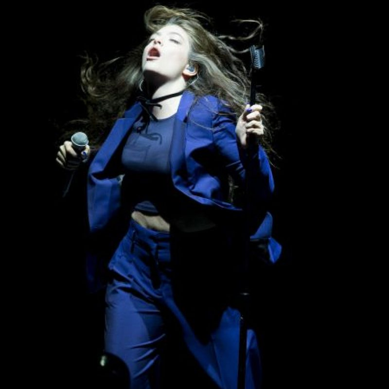 Su nombre completo es Ella Maria Lani Yelich-O'Connor Foto:Getty Images