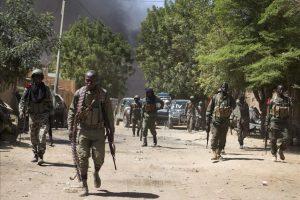 Soldados del ejército maliense en Gao, Mali. EFE/Archivo