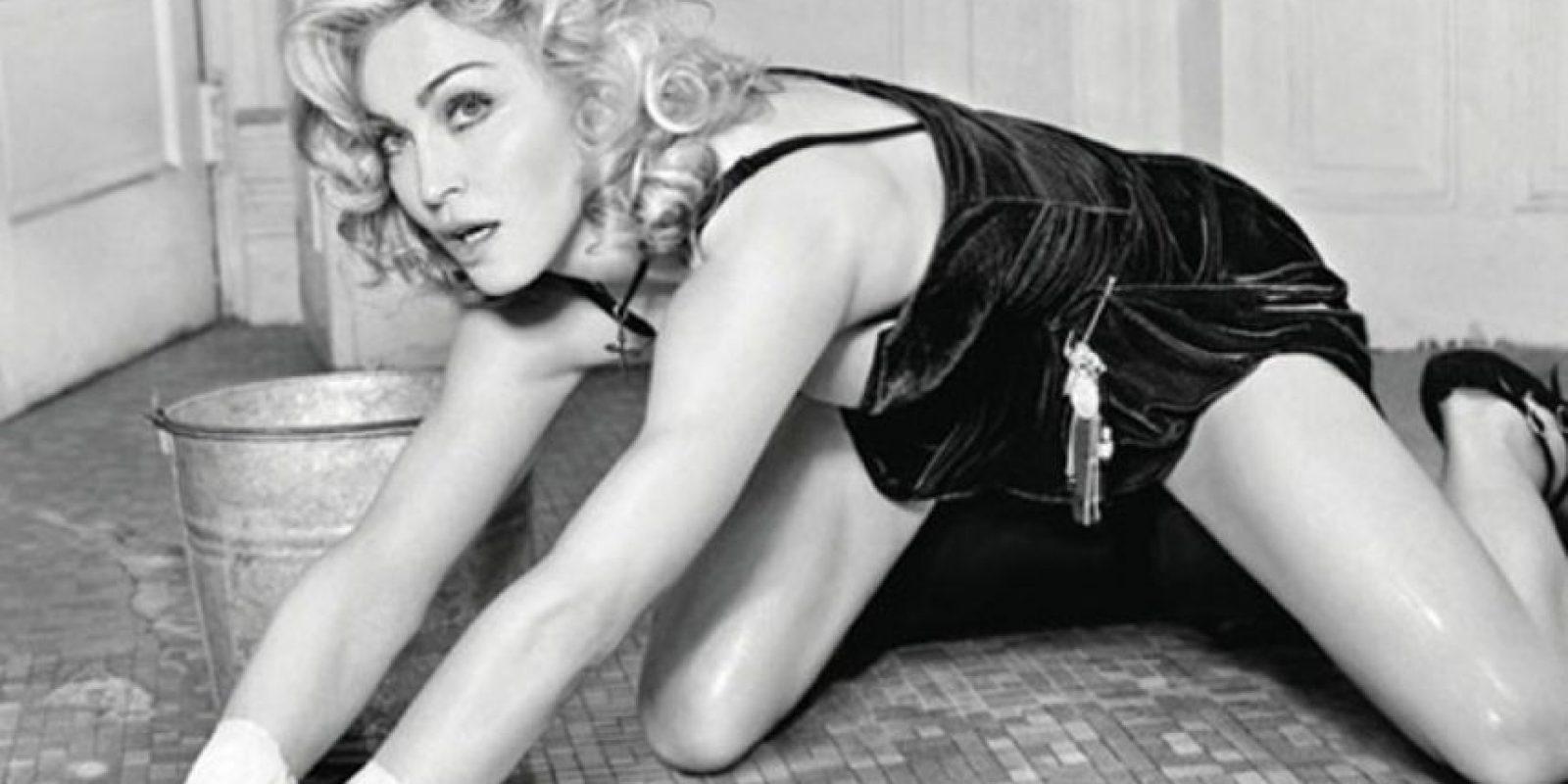 No, moda. Anuncio de Dolce & Gabbana con Madonna. Foto:Dolce & Gabbana.
