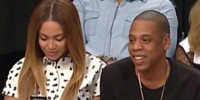 Beyoncé y Jay Z Foto:NBA Highlights