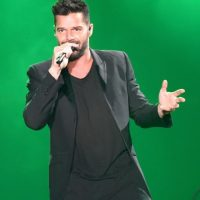 Ricky Martin tiene dos hijos gemelos Foto:Getty Images