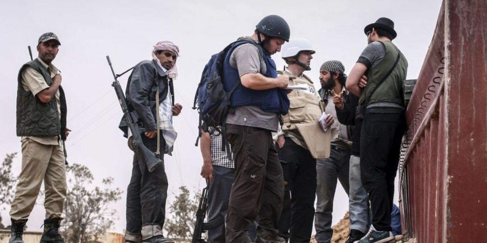 Steven Sotloff, periodista Foto:Getty Images