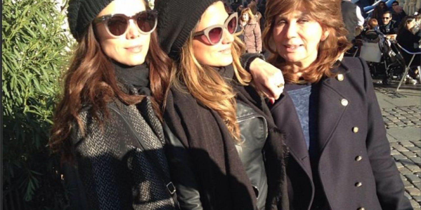 Valentina Acosta pasó el día de velitas en familia. Foto:Instagram