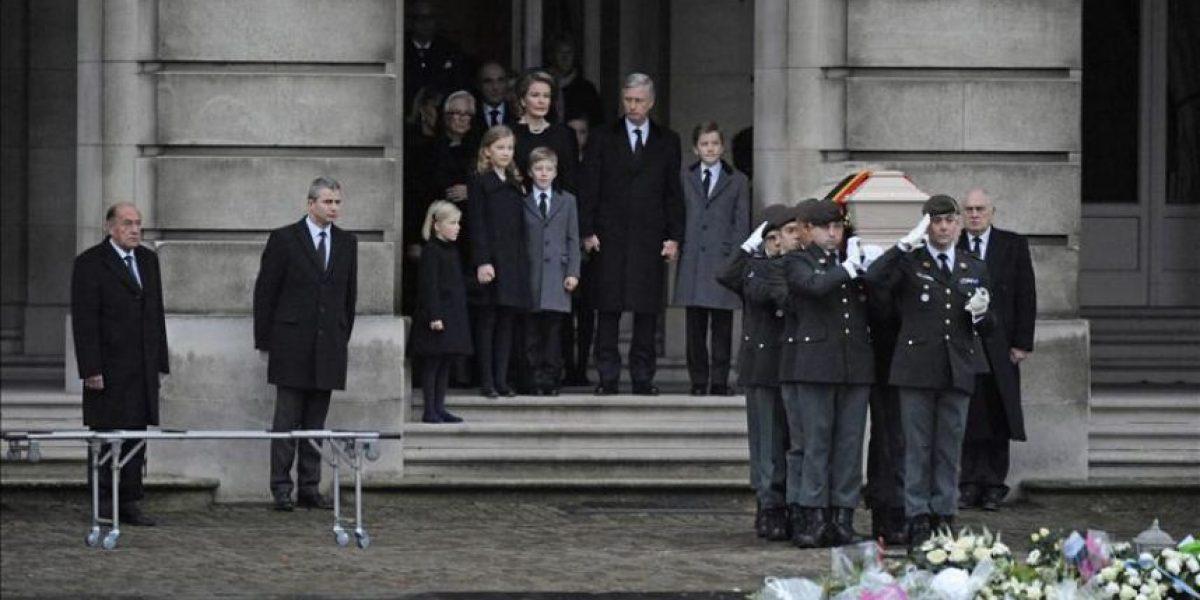 Bélgica rinde su último homenaje a la reina Fabiola en un funeral nacional