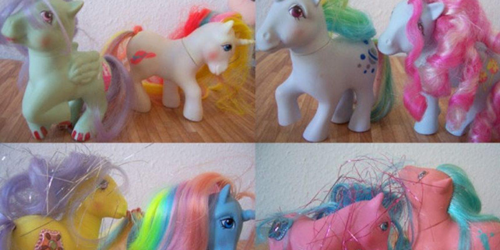"""Los ponys del primer """"Mi pequeño Pony"""" Foto:Wehearit"""