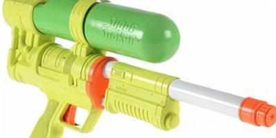 Esta pistolota de agua Foto:eBay