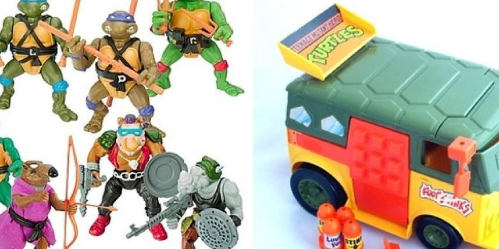 Las Tortugas Ninja Foto:eBay