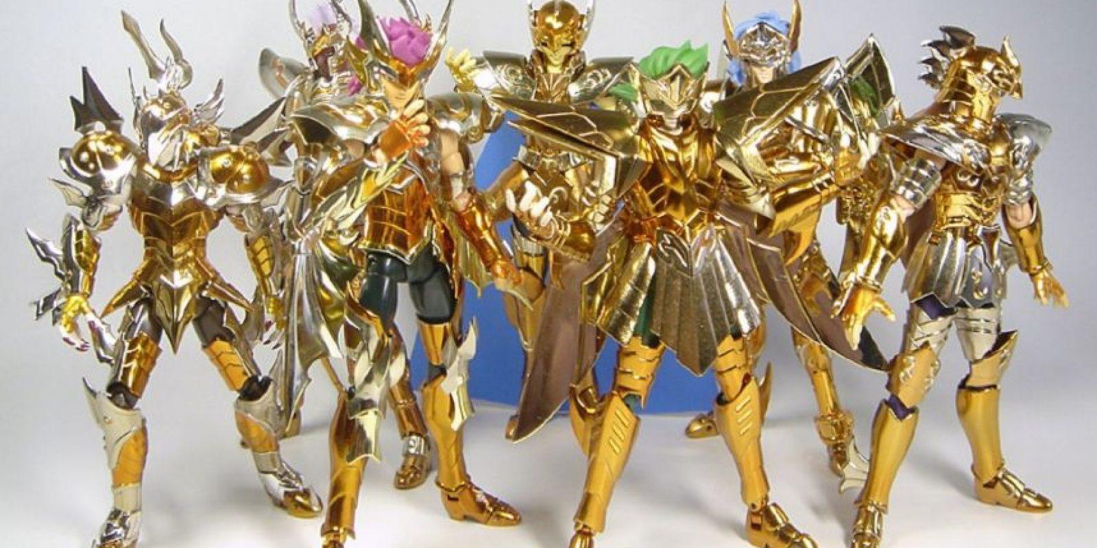 Los Caballeros del Zodiaco pero los de Bandai, nada de los piratas. Foto:Bandai