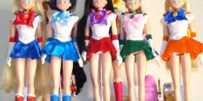 Las muñecas de los años 90 de Sailor Moon. Las casitas. Su loción. Foto:Deviantart