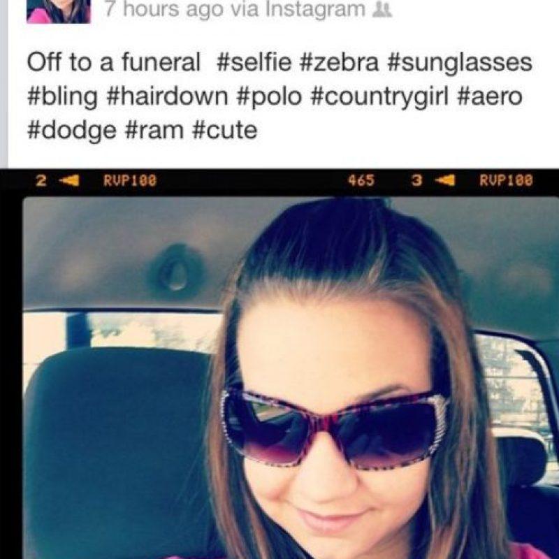 Nada más estiloso para un funeral Foto:FunnyJunk