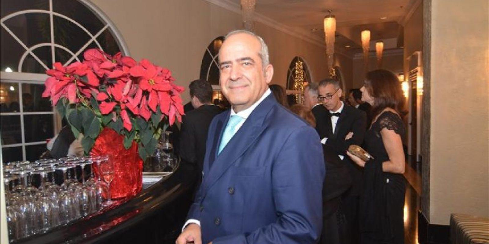 Francisco Cernuda, CEO de 100 Montaditos, en la trigesimo cuarta gala de la Cámara de Comercio España-EE.UU. que se lleva a cabo este 13 de diciembre 2014 en Coral Gables, Florida. EFE