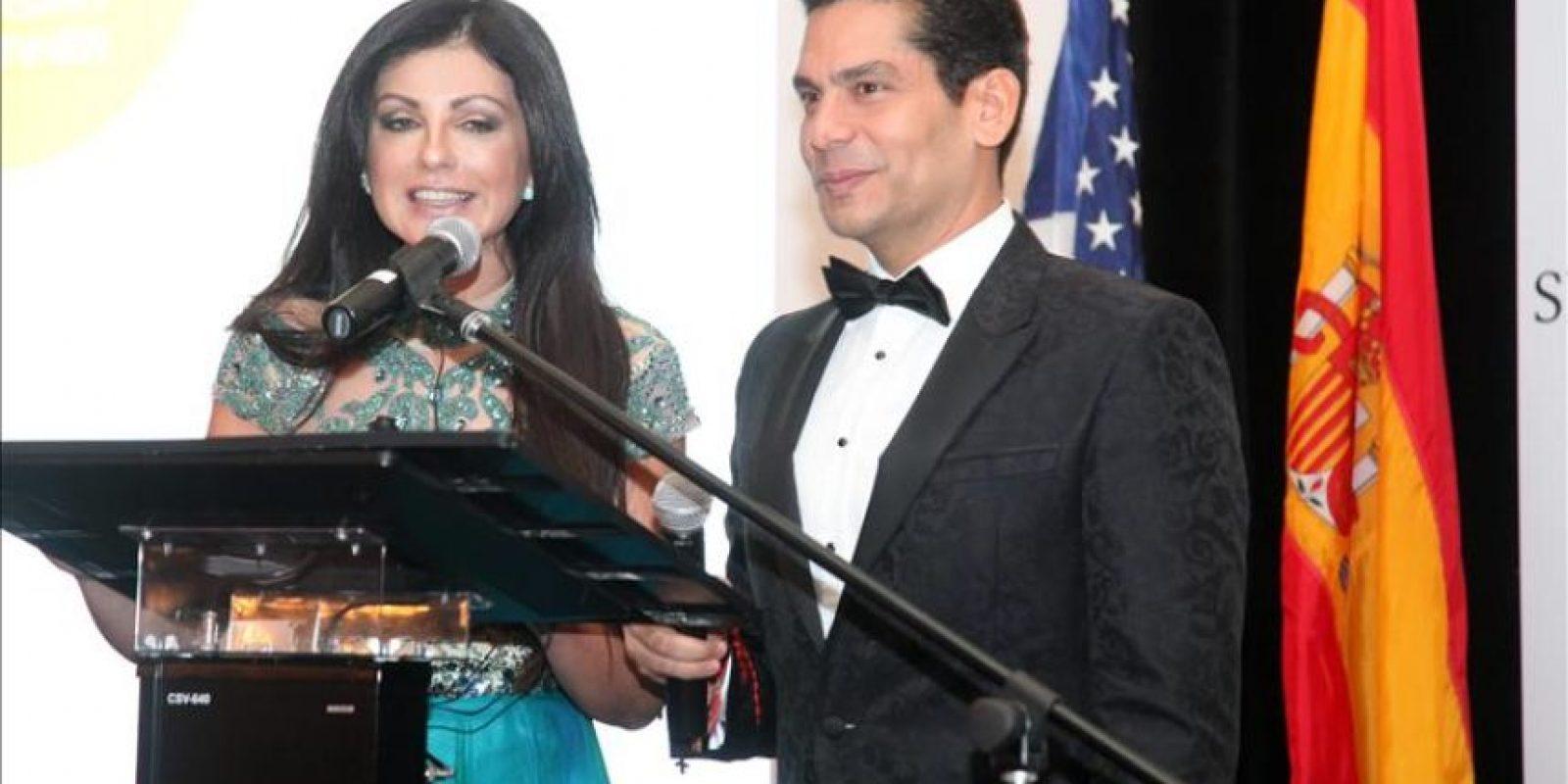 Marian De La Fuente y Ismael Cala fueron los presentadores de la trigesimo cuarta gala de la Cámara de Comercio España – EE.UU que se lleva a cabo este 13 de diciembre 2014 en Coral Gables, Florida. EFE