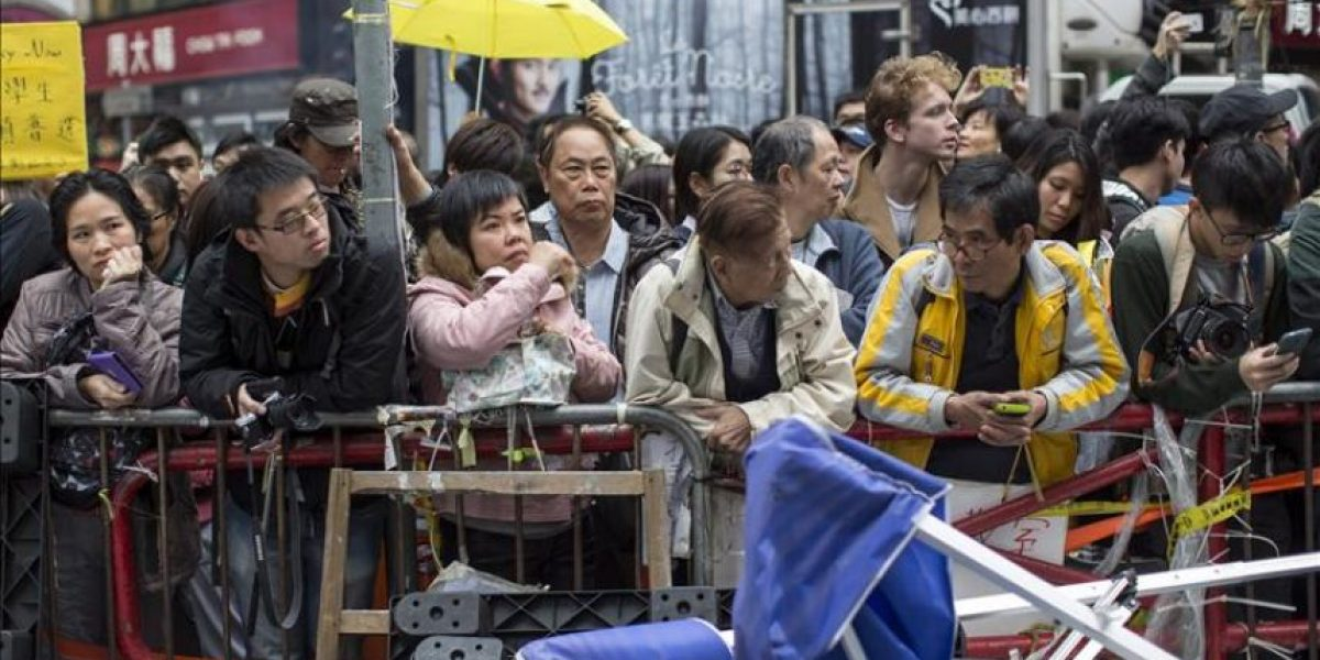 Las protestas en Hong Kong echan el cierre con casi mil detenidos
