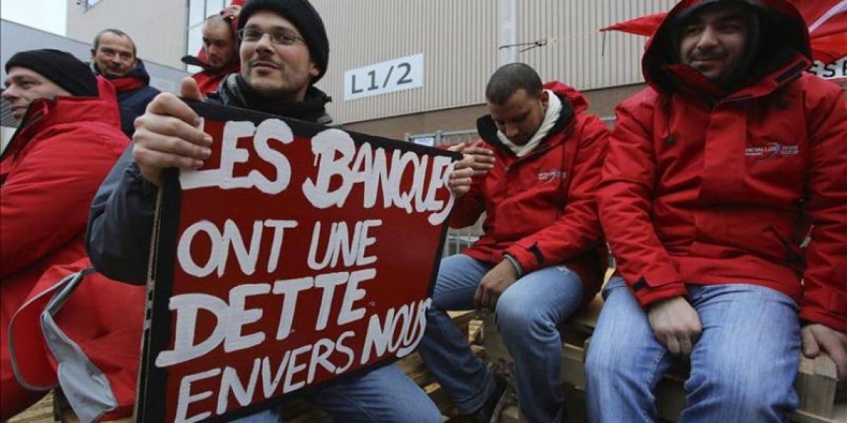 La huelga general en Bélgica logra un gran impacto en todos los sectores