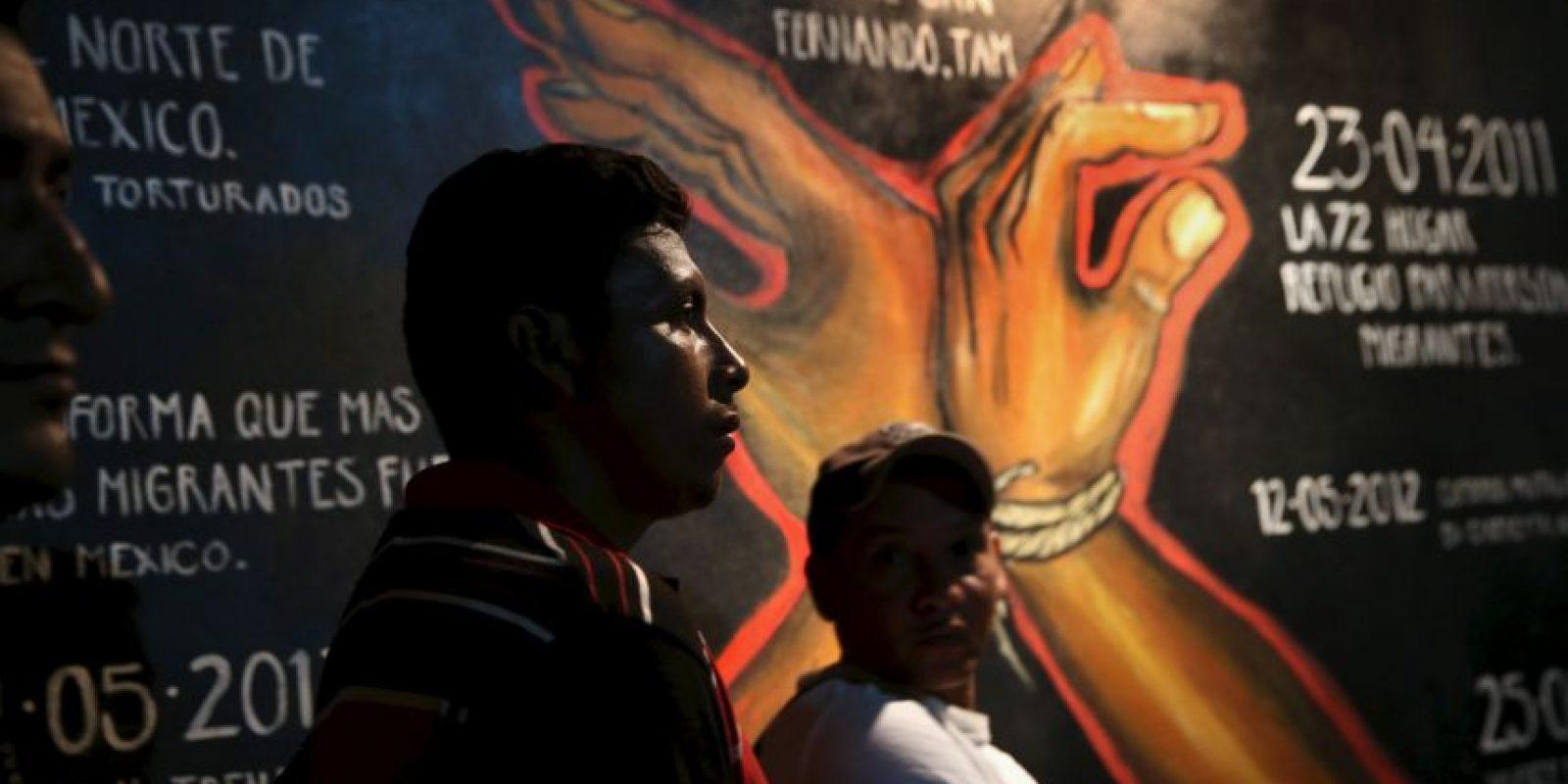 Muchos migrantes son asaltados o extorsionados durante su travesía. Foto:Getty Images