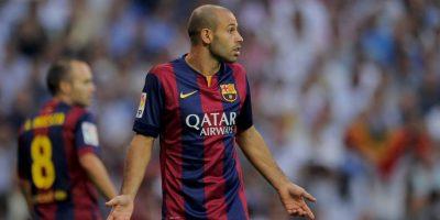 El otro futbolista mencionado fue Javier Mascherano Foto:Getty
