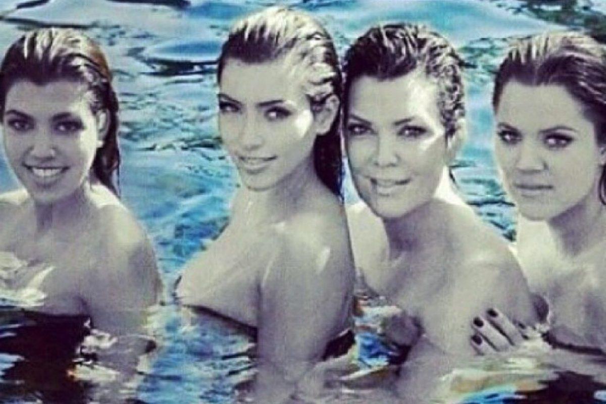 Kourtney Kardashian, Kim Kardashian, Kris Jenner y Khloe Kardashian Foto:Instagram/Kris Jenner