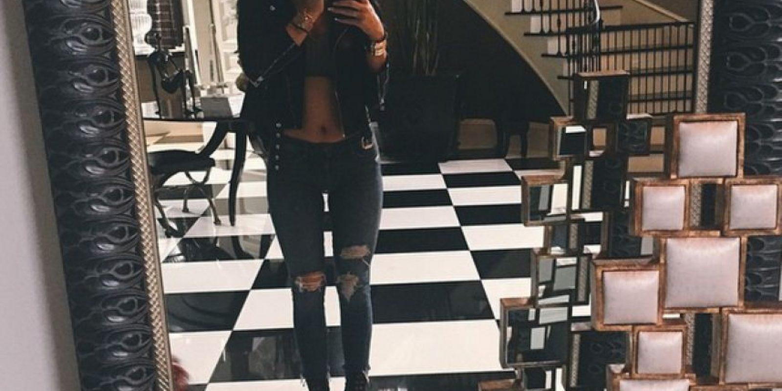 Modelado para diseñadores como Sherri Hill Foto:Instagram Kylie Jenner