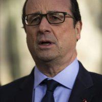 El presidente francés, François Hollande, durante una rueda de prensa celebrada en París, Francia. EFE/Archivo