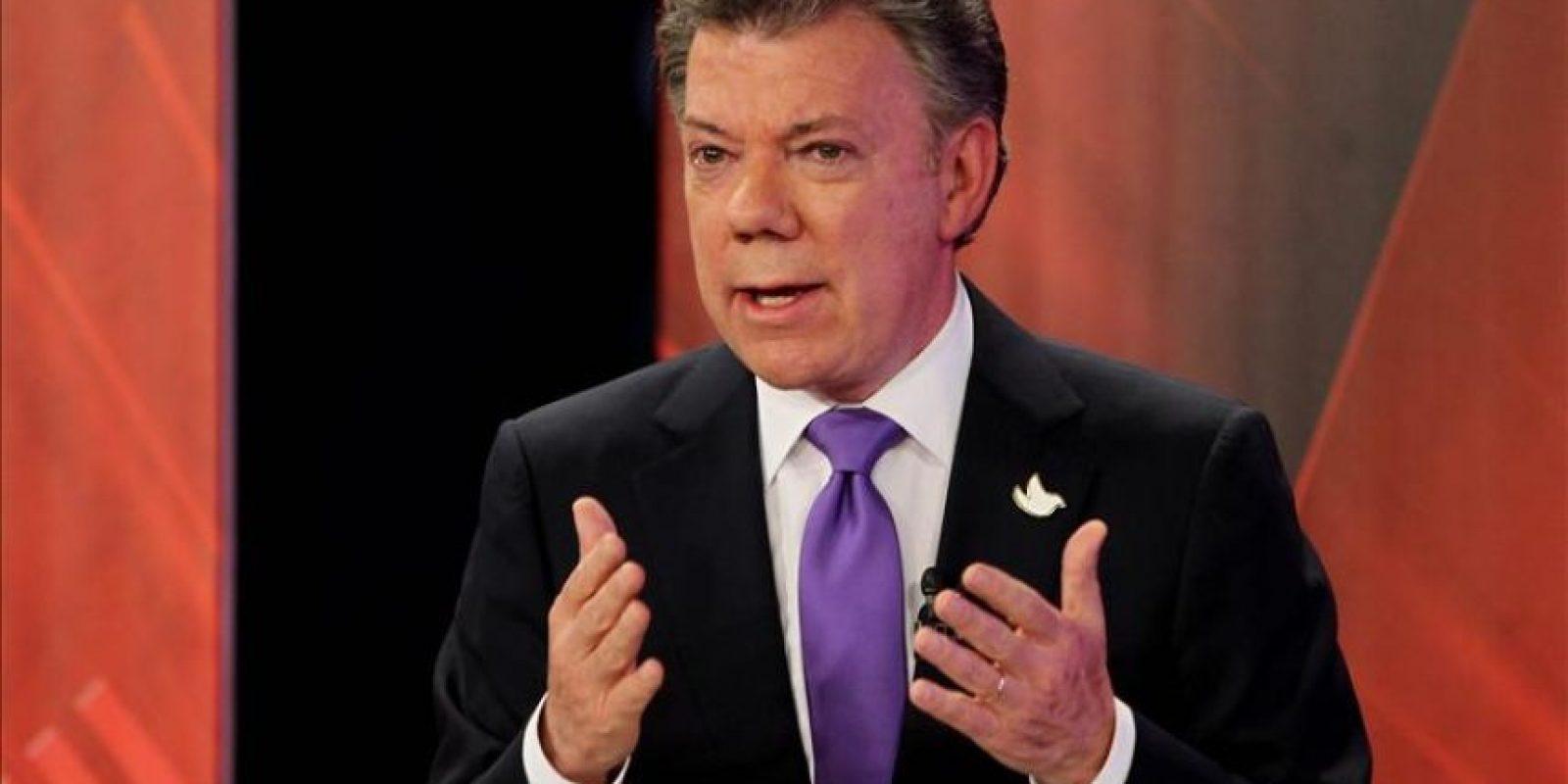 El presidente colombiano, Juan Manuel Santos. EFE/Archivo
