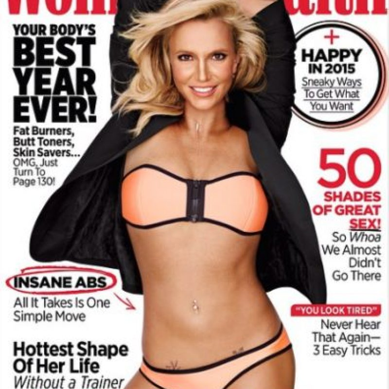 La última portada que la cantante protagonizó Foto:Instagram/Britney Spears