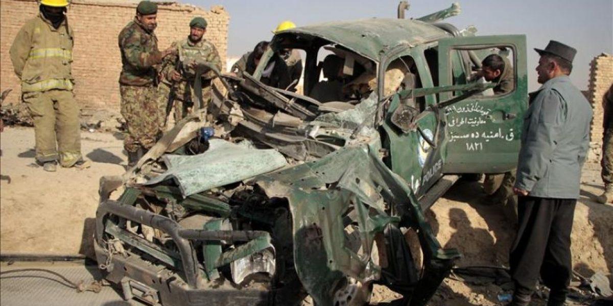 Al menos 78 muertos en las operaciones de fuerzas de seguridad afganas y la OTAN
