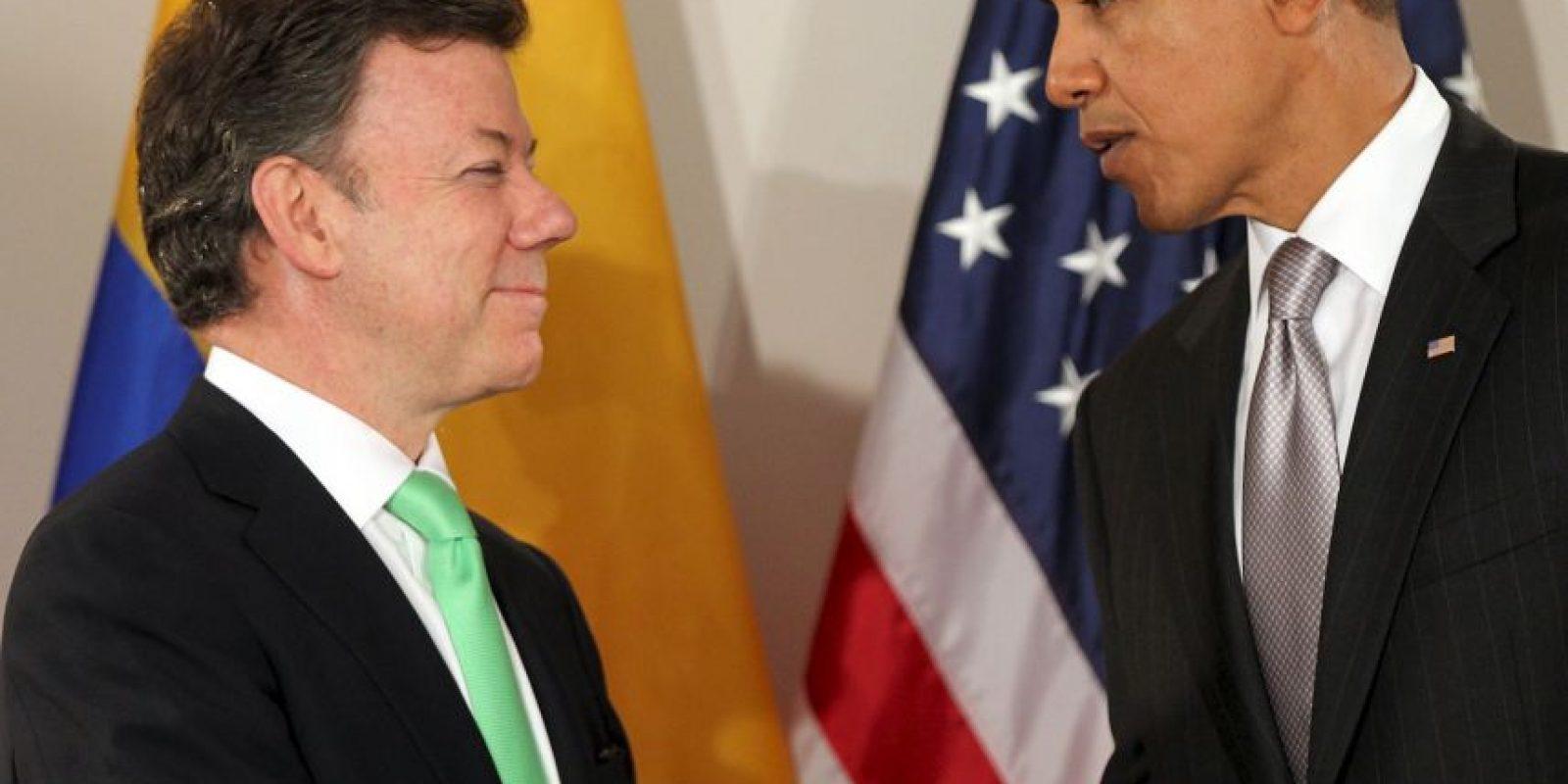 Juan Manuel Santos, de Colombia Foto:Getty Images