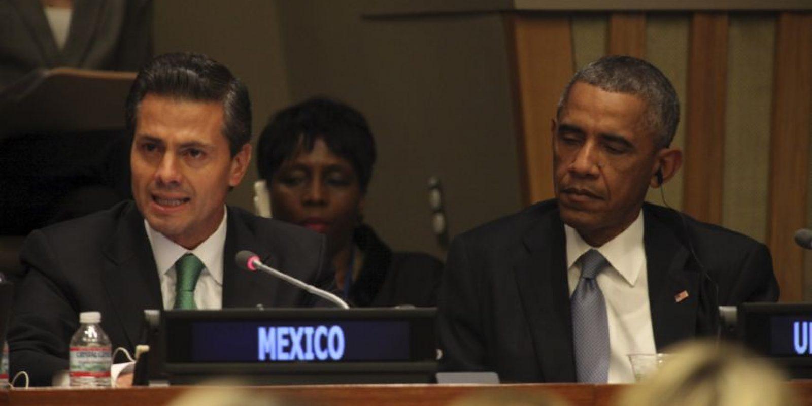 Enrique Peña Nieto, de México Foto:Getty Images