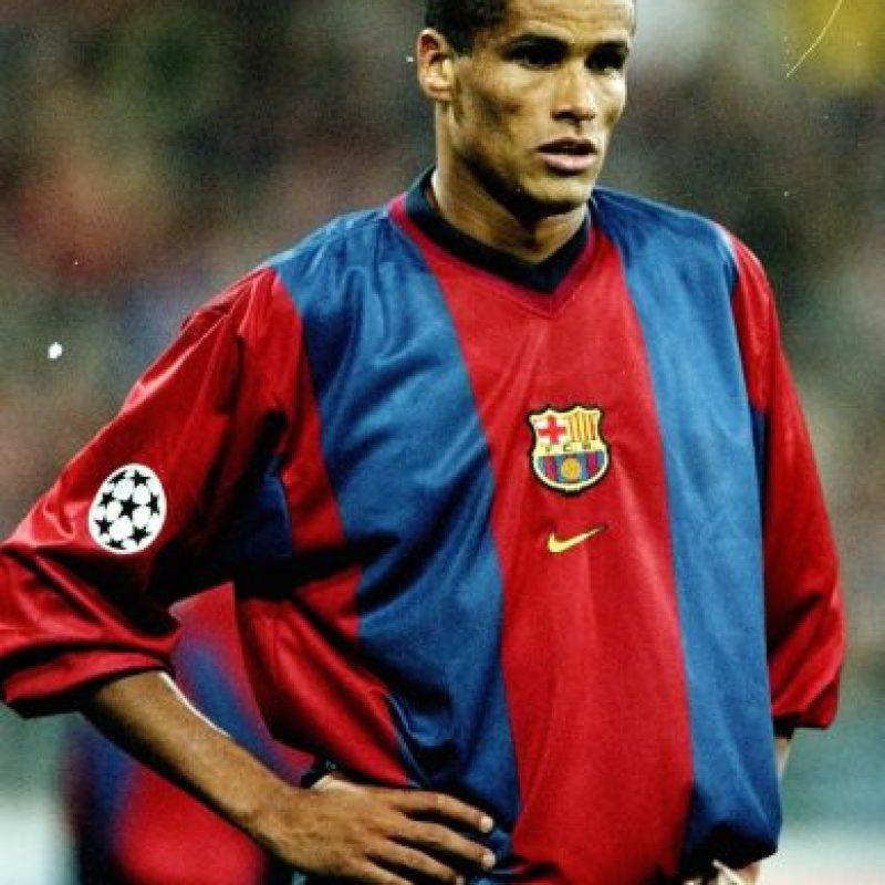 El jugador brasileño jugó con el equipo culé entre 1997 y 2002. Foto:Getty Images