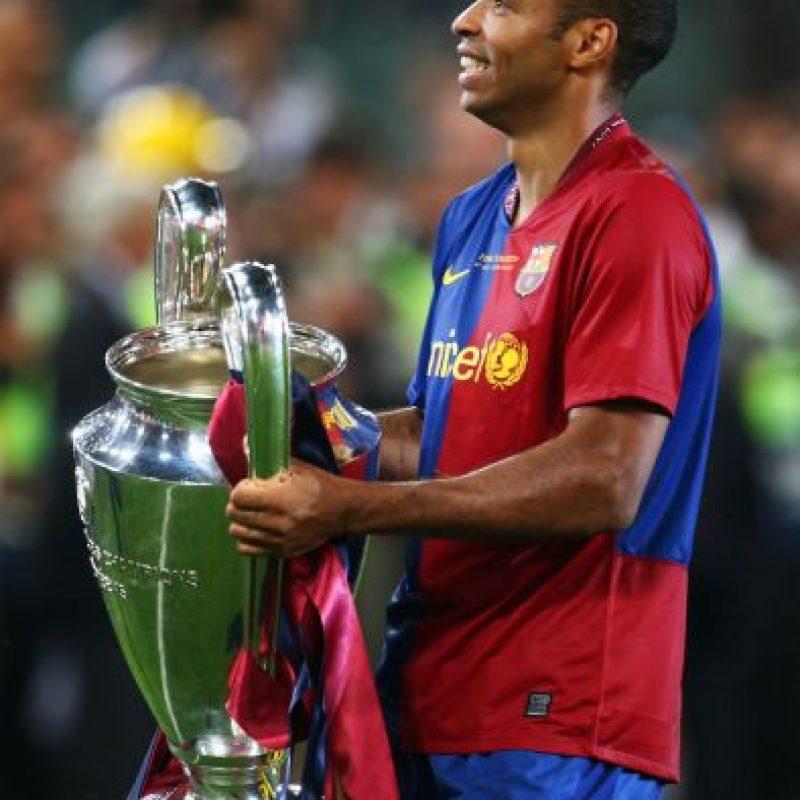 El jugador francés llegó a la escuadra catalán en 2007 y se fue en 2010. Foto:Getty Images