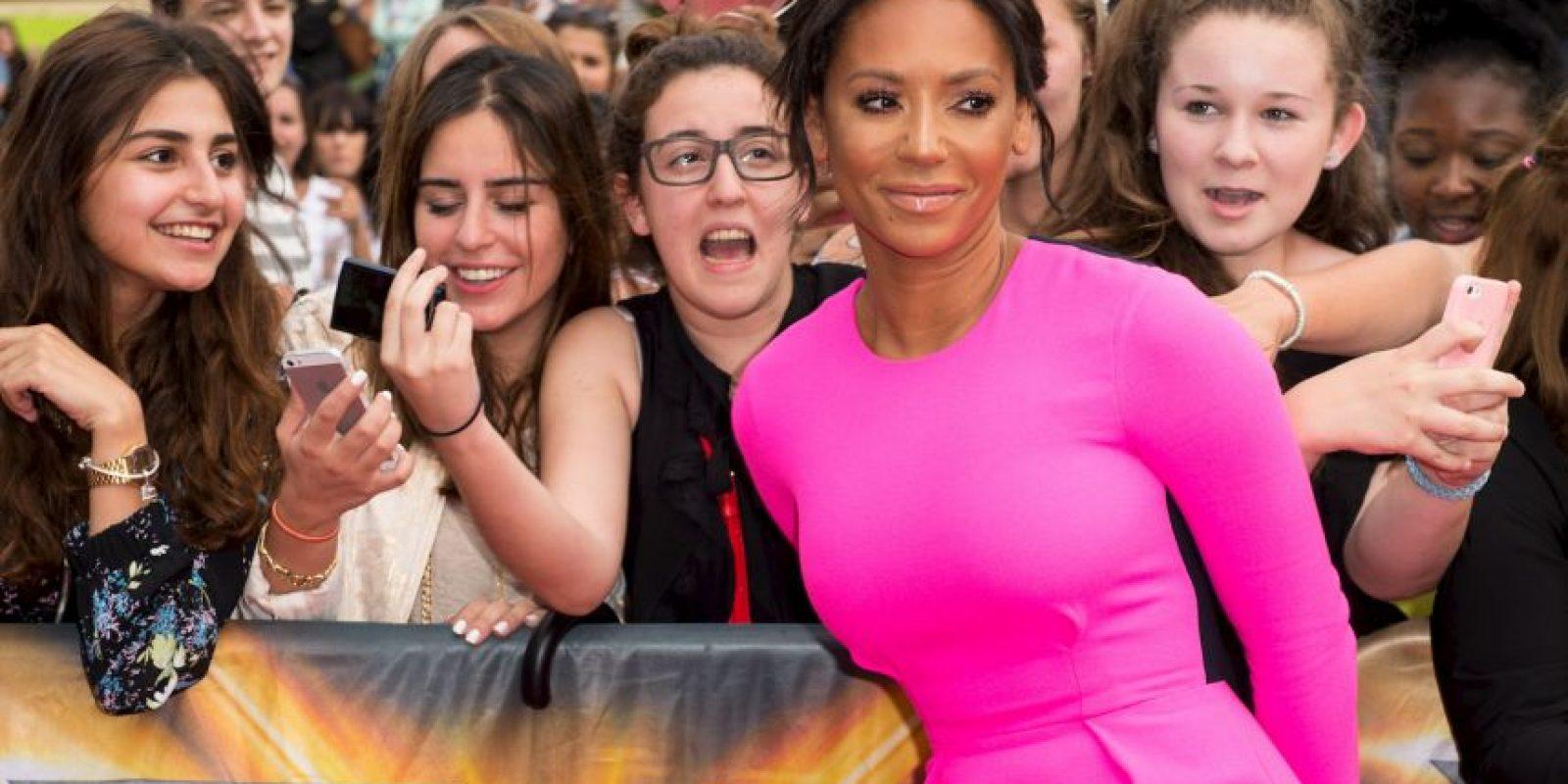 """Es una cantante de pop británica que saltó a la fama como miembro de las """"Spice Girls"""" Foto:Getty Images"""