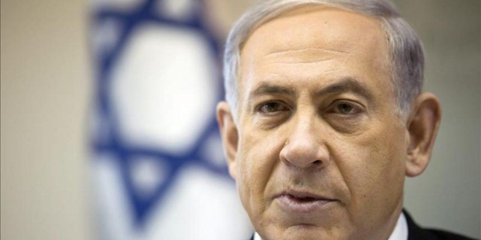 El primer ministro israelí, Benjamín Netanyahu. EFE