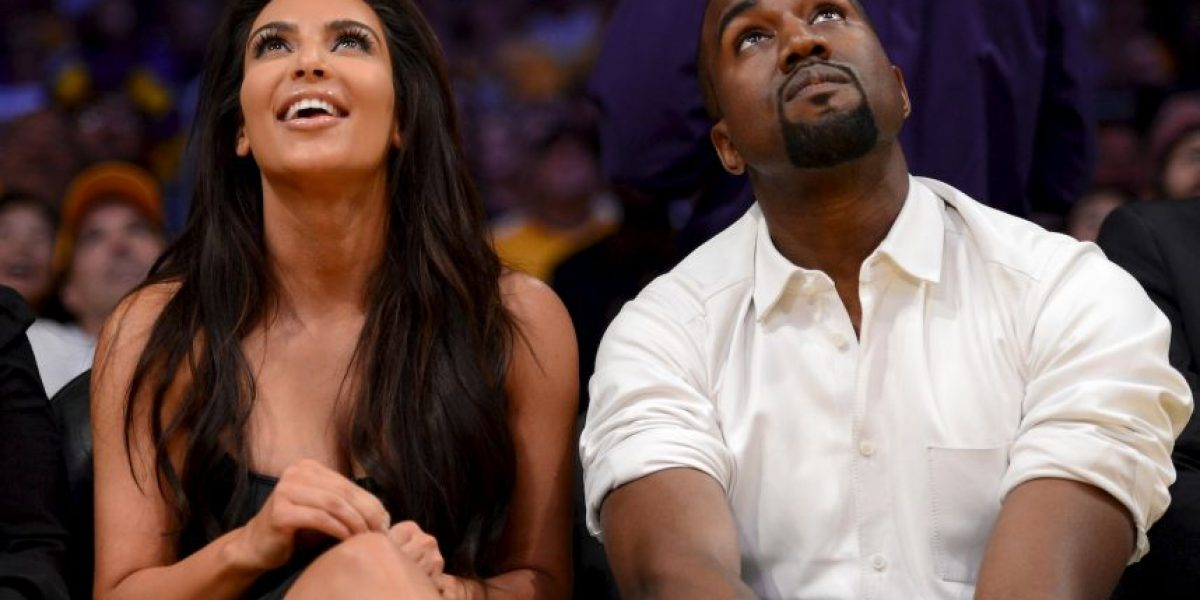 FOTO: Kim Kardashian y Kanye West como nunca los habíamos visto