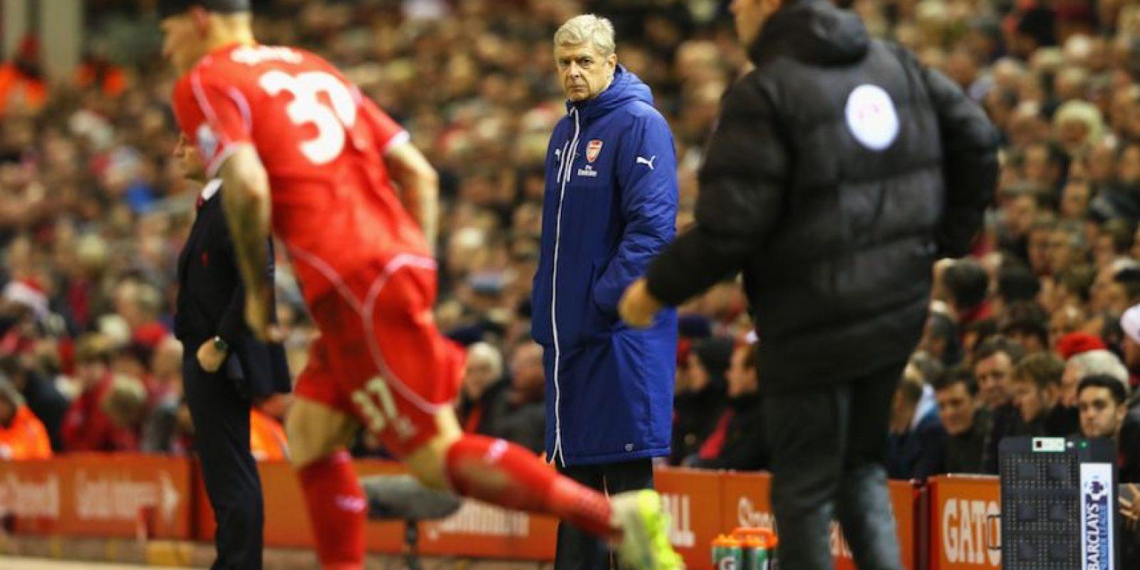 Martin regresó al campo de juego después del incidente. Foto:Getty Images