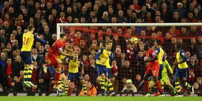 Inclusive metió el empate a dos ante el Arsenal. Foto:Getty Images
