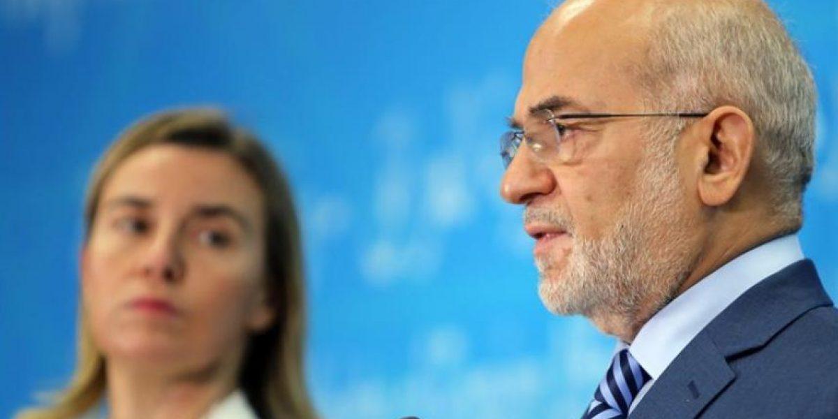 La jefa de la diplomacia europea llega a Bagdad para abordar la lucha contra el EI