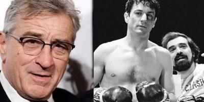 Para el filme 'Toro Salvaje', Robert De Niro aumentó cerca de 28 kg para personificar a un boxeador. Además tuvo que prepararse con duros entrenamientos y ejercicios para aumentar su masa muscular.
