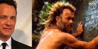 'El Náufrago' significó para Tom Hanks drásticas subidas y bajadas de peso. Durante la primera parte de la película, Hanks tuvo que aumentar varios kilos, mientras que para la segunda parte perdió 22 kilos.