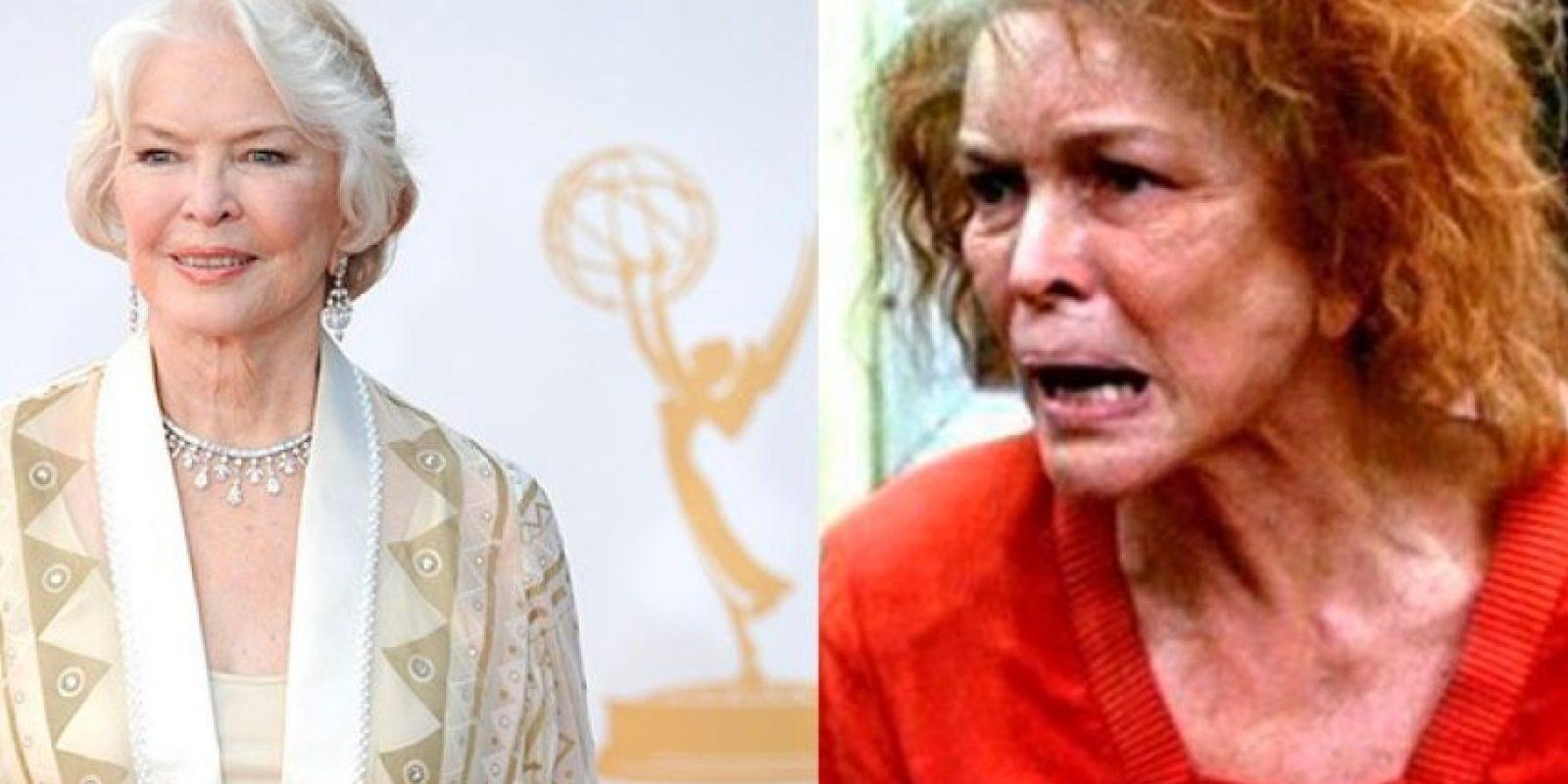 En 'Requiem por un Sueño', Ellen Bursty perdió más de diez kilos para interpretar el papel de una mujer obsesionada con los programas de concurso y con la extrema delgadez.