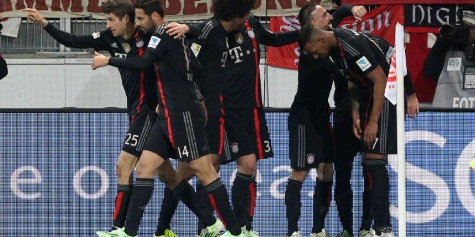 2. Bayern Múnich Foto:AFP