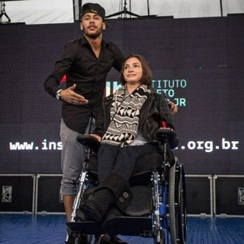 Inauguró un centro de educación que lleva su nombre Foto:AFP